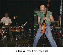 Bill & Tony in rehearsal
