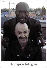 A couple of bald guys