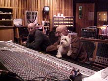Sherlock at the mixing board