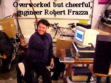 Engineer Robert Frazza