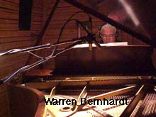 Warren Bernhardt at the piano