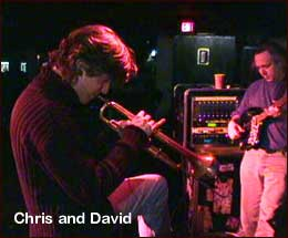Chris and David